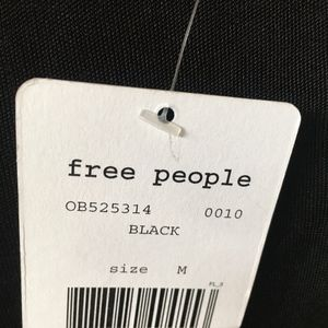"Free People Dresses - SOLD...NWT FREE PEOPLE ""Sin City"" Black Maxi Dress"
